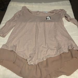 NWT Anthropology Thin top